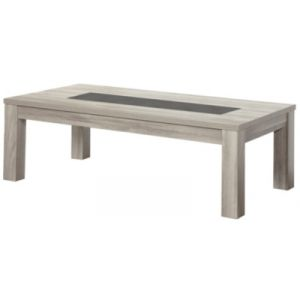 Table basse rectangulaire STONE Chêne gris