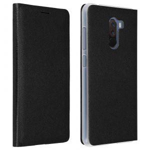 Housse Xiaomi Pocophone F1 Étui Portefeuille Clapet Flip Cover Ultra-fin - noir