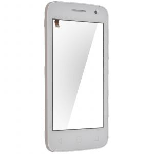 Vitre Tactile Alcatel One Touch Pop 2 (4'') Bloc écran d'Origine Alcatel - Blanc