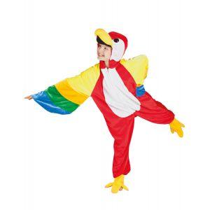 Déguisement perroquet enfant - Taille: 4-6 ans (104-116 cm)