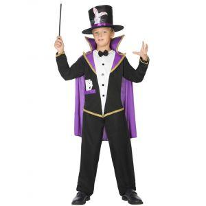 Déguisement maître magicien enfant - Taille: 5-6 ans (115/130 cm)