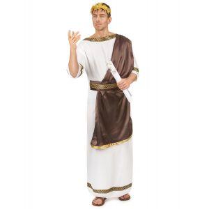 Déguisement romain marron homme - Taille: L