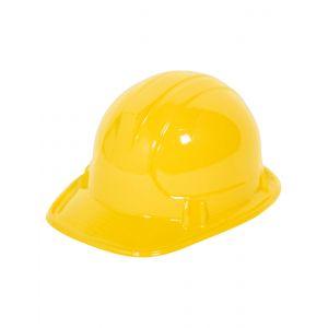 Casque ouvrier du bâtiment enfant jaune
