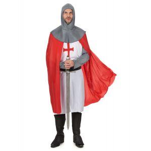 Déguisement chevalier croisé médiéval homme - Taille: XL