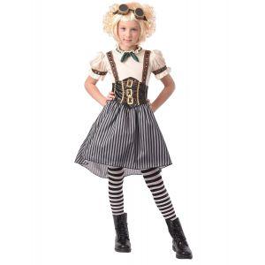 Déguisement steampunk fille - Taille: XL 13-14 ans (140-160 cm)