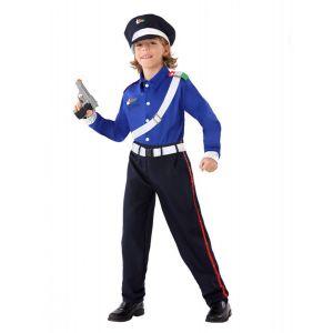 Déguisement policier carabinieri garçon - Taille: 5-6 ans (115/130 cm)