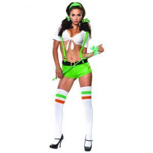 Déguisement irlandaise femme sexy - Taille: M (40-42)