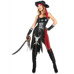 Déguisement pirate sexy femme - Taille: Small
