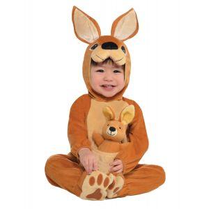 Déguisement kangourou bébé - Taille: 1-2 ans (86-92 cm)