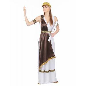 Déguisement satiné romaine femme - Taille: M