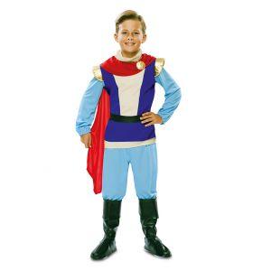 Déguisement prince charmant enfant - Taille: 7 à 9 ans (122-138 cm)