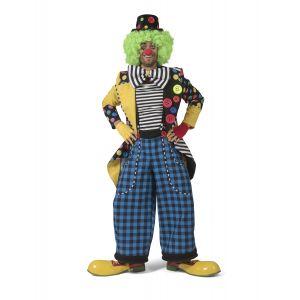 Veste clown queue-de-pie avec gros nœud homme - Taille: M / L