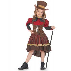 Déguisement steampunk luxe fille - Taille: XL 13-14 ans (140-160 cm)