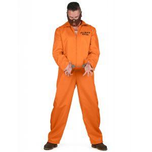 Déguisement de prisonnier cannibale homme Halloween - Taille: M / L