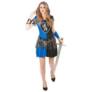 Déguisement Chevalier bleu Femme - Taille: M
