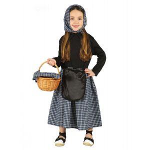 Déguisement marchande de marrons fille - Taille: 5 à 6 ans (110-115 cm)