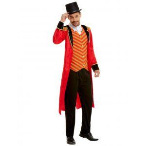 Déguisement Monsieur Loyal rouge homme - Taille: XL