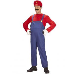 Déguisement super plombier homme - Taille: Medium