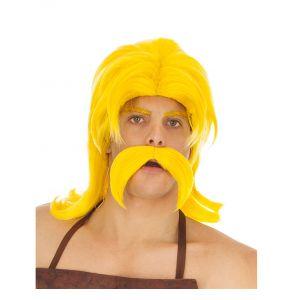 Perruque et moustache Cétautomatix Astérix et Obélix