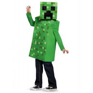 Déguisement Creeper Classique Minecraft enfant - Taille: 4 - 6 ans (109 - 126 cm))