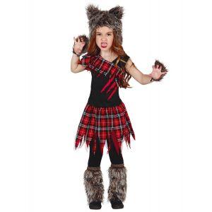 Déguisement loup-garou du campus fille Halloween - Taille: 10 à 12 ans (142-148 cm)