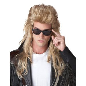 Perruque mulet 80's blond