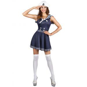 Déguisement marin femme - Taille: M