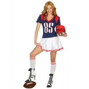 Déguisement joueur football américain femme - Taille: M / L