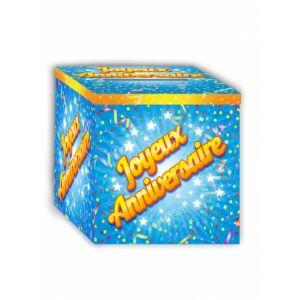 Urne Joyeux Anniversaire 20 x 20 cm Taille Unique