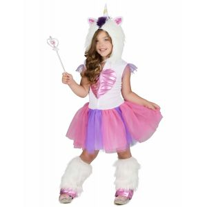 Déguisement Princesse Licorne Fille - Taille: 5 - 6 ans (S)