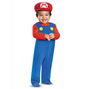 Déguisement Mario bébé - Taille: 12 à 18 mois