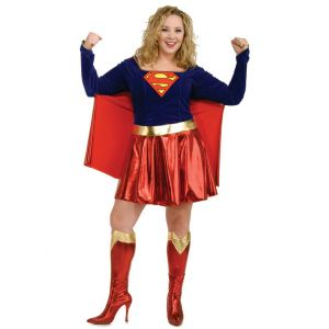 Déguisement Supergirl grande taille femme - Taille: XL