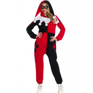 Déguisement combinaison Harley Quinn adulte - Taille: Small