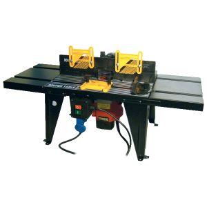 Table de fraisage d'établi avec interrupteur de sécurité 865 x 300 mm