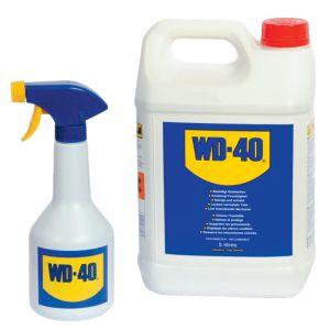 Dégrippant WD40 Bidon 5L et pulvérisateur