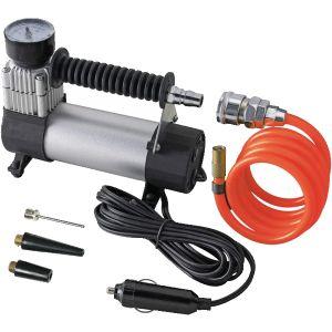 Mini compresseur 12 V de voiture avec lampe intégrée
