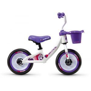 """""""s'cool pedeX 3in1 10"""""""" Enfant, white/violett Vélos enfant & ado"""""""