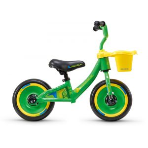 """s'cool pedeX 3in1 10"""" Enfant, green/yellow Vélos enfant & ado"""