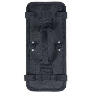 Basil Plaque pour fixation amovible Pour double sacoche, black Accessoires sacoches & paniers