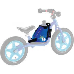 Puky LRT Sac de cadre pour gourde avec sangle de transport Enfant, blue football Accessoires vélo enfant