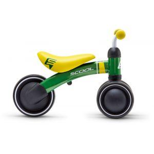 s'cool pedeX first Enfant, green/yellowmatt Vélos enfant & ado