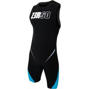 Z3R0D Elite Combinaison à manches courtes Homme, black/atoll/orange L Combinaisons triathlon & Trifonctions