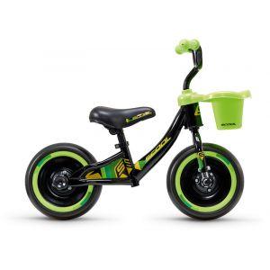 """s'cool pedeX 3in1 10"""" Enfant, black/green Vélos enfant & ado"""