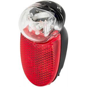 Busch + Müller Seculite Plus Dynamo Rear Light, black/red Lampes arrière dynamo
