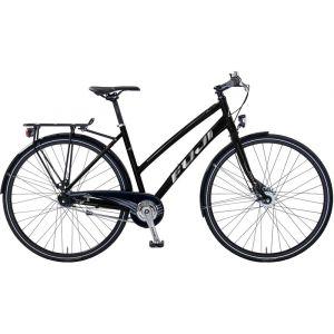 FUJI Absolute City 1.2 ST Femme, satin black/chrome Vélos de ville