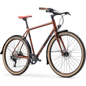 Breezer Doppler Cafe+, copper metallic/black Vélos de ville