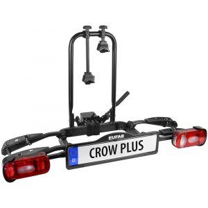 Eufab Crow Plus Porte-vélos Extensible Porte-vélos coffre