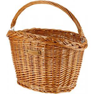Basil Detroit Panier en osier Ovale, natur Paniers pour guidon