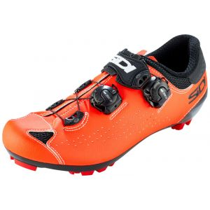Sidi MTB Eagle 10 Chaussures Homme, black/red fluo EU 48 Chaussures VTT à cales