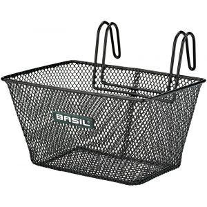 Basil Tivoli Panier mailles serrées Enfant, black Paniers pour guidon